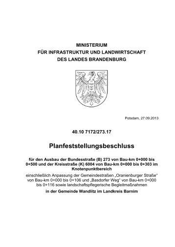 PF_B273_K6004.pdf - Ministerium für Infrastruktur und Landwirtschaft