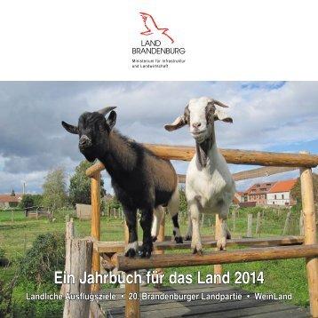Jahrbuch_2014.pdf - Ministerium für Infrastruktur und Landwirtschaft