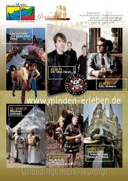 Veranstaltungskalender - Minden Marketing GmbH