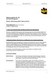 Bebauungsplan 52, Umweltbericht (130.50 KB) - Stadt Mindelheim