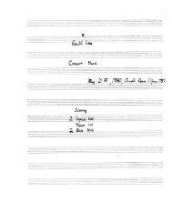 Rosner - Consort Music, op. 75