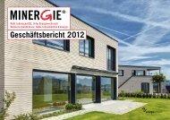 Geschäftsbericht 2012 - Minergie