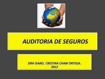 AUDITORIA DE SEGUROS