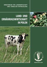 Land- und Ernährugswirtschaft in Polen - Ministerstwo Rolnictwa i ...