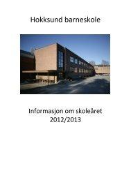 Informasjon 2012/2013 - Minskole.no