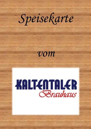 Speisekarte - Mir Allgaier – Mir Allgäuer