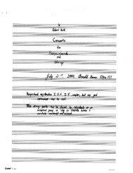 Rosner - Concerto for Harpsichord and Strings, op. 113