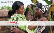 Der Jahresbericht 2012 von missio