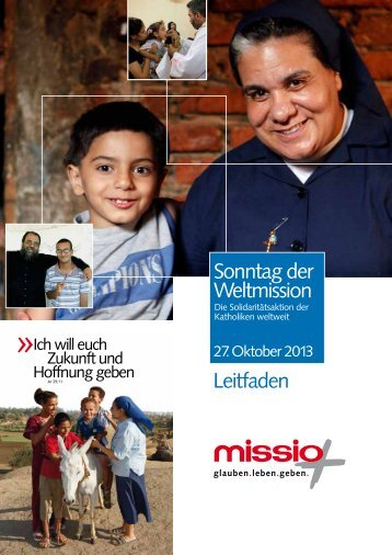 Kampagnenleitfaden (PDF) - Missio
