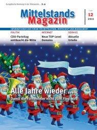 Mittelstands-Magazin 12/2011