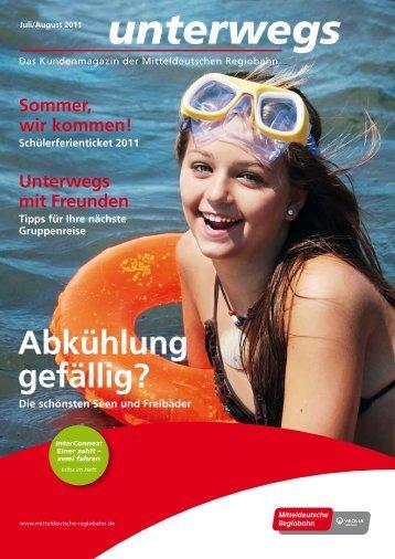 Download PDF unterwegs 2011 Nr. 3 - Mitteldeutsche Regiobahn