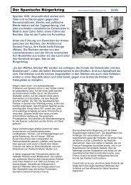 Der Spanische Bürgerkrieg - Mittelschulvorbereitung Deutsch
