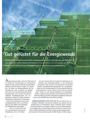Gut gerüstet für die Energiewende (KFW) - Mittelstandsfreundliche ...