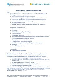 Leitfaden_Pflegeversicherung.pdf - Mittelstand und Familie