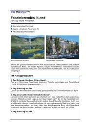Faszinierendes Island - Reisebüro Mittelthurgau Fluss- und ...