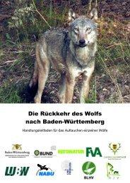 """Textbausteine zum Managementplan """"Wölfe in Bayern - Stufe 1"""""""