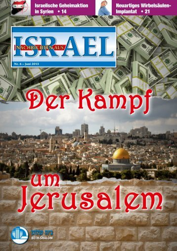 Israelische Geheimaktion in Syrien • 14 Neuartiges Wirbelsäulen ...