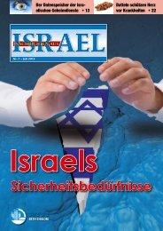 Sicherheitsbedürfnisse Israels - Missionswerk Mitternachtsruf