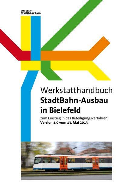 Werkstatthandbuch Stadtbahn Ausbau In Bielefeld Mobiel Gmbh