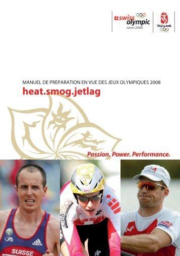 Heat Smog Jetlag – Manual de préparation en vue ... - mobilesport.ch