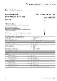 Hirschmann 921 418-001 AUTA 3400 F 910 Antenne