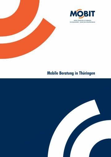 """Broschüre """"Mobile Beratung in Thüringen"""" - mobit.org"""