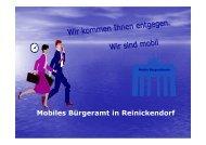 Mobiles Bürgeramt in Reinickendorf - Projekt Mobile Bürgerdienste