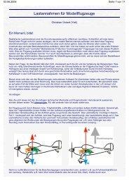 Lastannahmen für Modellflugzeuge - Modellflug-im-DAeC