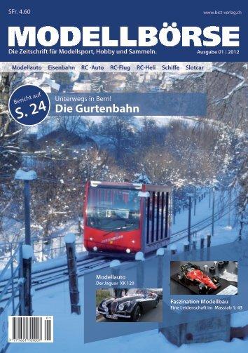 Ausgabe 02/2012 - Modellbörse - BiCT Verlag GmbH