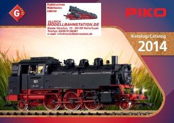 Katalog G 2014 - Modellbahnstation