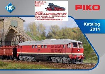 Katalog 2014 - Modellbahnstation