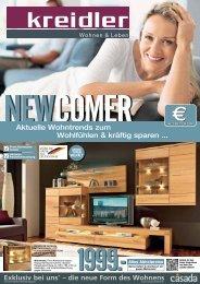 Aktuelle Wohntrends zum Wohlfühlen & kräftig sparen - Möbel Kreidler