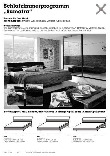 Schlafzimmerprogramm Magazine