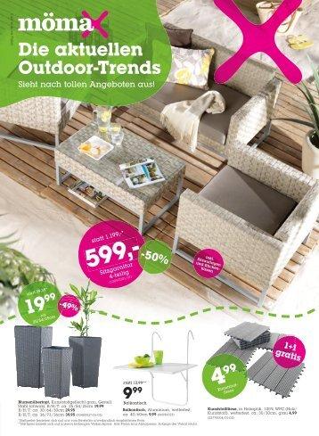Die aktuellen Outdoor-Trends - Mömax