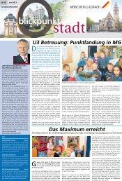 Ausgabe Nr. 16, vom 9. Juni 2013 - Stadt Mönchengladbach