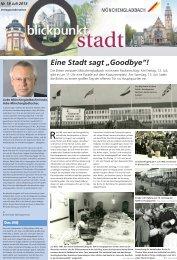 Ausgabe Nr. 18, vom 7. Juli 2013 - Stadt Mönchengladbach