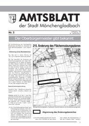 Amtsblatt Nr. 2 vom 31.01.2014 - Stadt Mönchengladbach