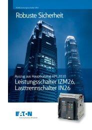 Robuste Sicherheit ACB/Leistungsschalter IZM - Eaton.eu