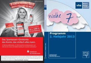 Programm 2. Halbjahr 2013 (PDF, 6.365 kB) - Stadt Moers