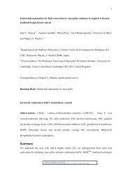 Summary - Molecular Biology of the Cell