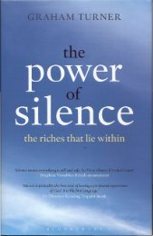 Chapter on Bapu published in recent book The Power of Silence by ...