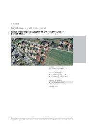 Erläuterungsbericht - Einwohnergemeinde Moosseedorf