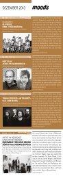 Monatsprogramm Dezember 2013 - Moods