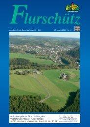 Ausgabe 265 vom 17.08.2013 - Gemeinde Morsbach