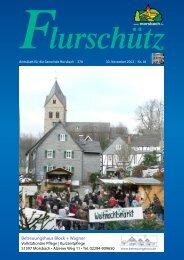 Ausgabe 270 vom 30.11.2013 - Gemeinde Morsbach