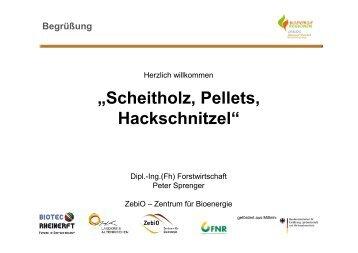 """""""Scheitholz, Pellets, Hackschnitzel"""""""
