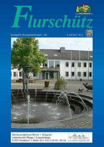 Ausgabe 263 vom 06.07.2013 - Gemeinde Morsbach