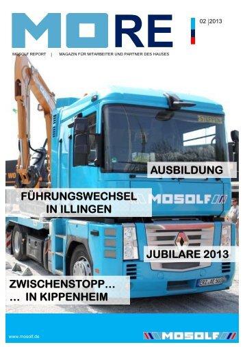 MORE Broschüre 02/2013 Deutsch (PDF, ca. 3,5 MB) - Mosolf
