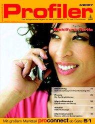 Mobilfunk-Tarife - Profiler24