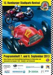 Programmheft 7. und 8. September 2013 - Das Hamburger ...